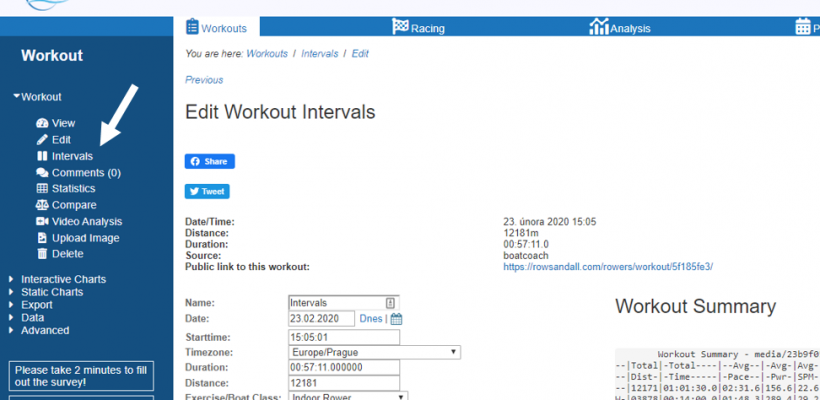You Need to Try the Interval Editor for Erg Workouts