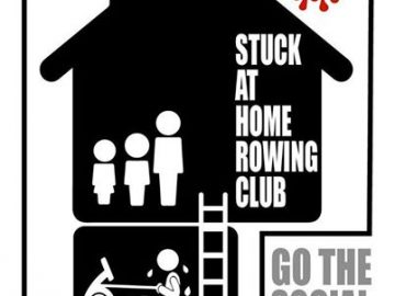 "Welcome to the ""Stuck at Home Rowing Club"""