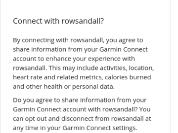How to get Rowing Data from your Garmin device on Rowsandall instantaneously